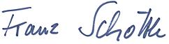 Unterschrift Schöttle